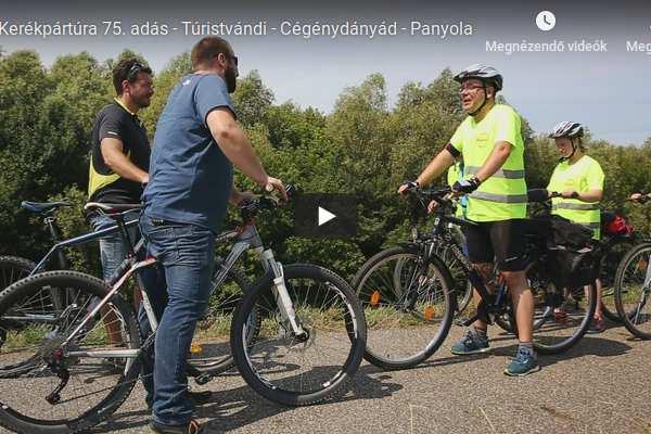 Kerékpártúra 75. adás – Túristvándi – Panyola