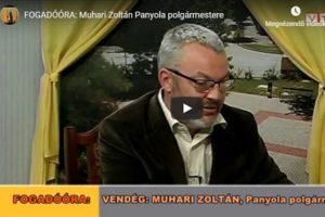 FOGADÓÓRA: Muhari Zoltán Panyola polgármestere